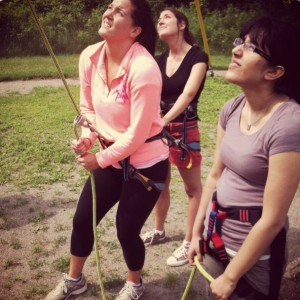 Women On Belay